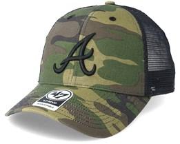 Atlanta Braves Branson Camo Trucker - 47 Brand