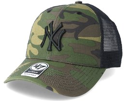 New York Yankees Branson Camo Trucker - 47 Brand