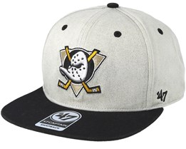 Anaheim Ducks Clean Up Gray Cement Snapback - 47 Brand