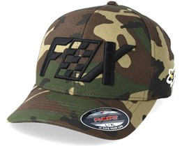 Czar Camo/Black Flexfit - Fox