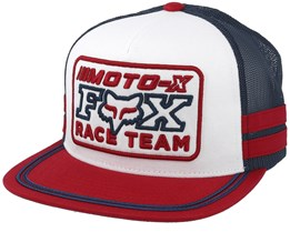 Intercept White Trucker - Fox