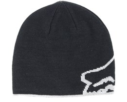 Streamliner Black Beanie - Fox