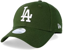 Los Angeles Dodgers Women League Essential 9Forty Rifle Green/White Adjustable - New Era