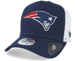 New England Patriots Team Essential Navy Trucker - New Era