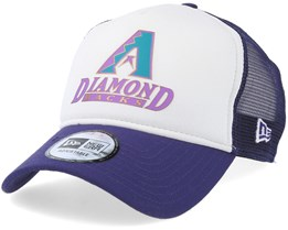 Arizona Diamondbacks Coast 2 Coast White/Purple Trucker - New Era