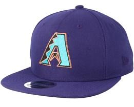 Arizona Diamondbacks Coast 2 Coast 9Fifty Purple Snapback - New Era