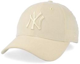 New York Yankees Mirco Cord 9 Forty Light Yellow Adjustable - New Era