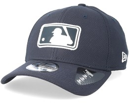 New York Yankees League Logo 39Thirty Diamond Navy Flexfit - New Era