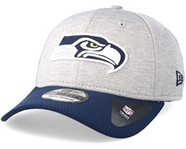 Seattle Seahawks Jersey Hex 39Thirty Grey/Navy Flexfit - New Era