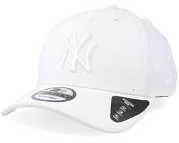 New York Yankees Diamond 9Forty White Adjustable - New Era