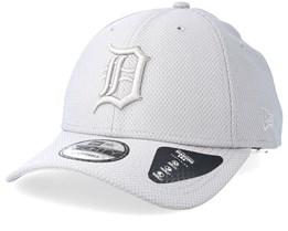Detroit Tigers Diamond 9Forty Grey Adjustable - New Era