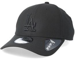 Los Angeles Dodgers Diamond 9Forty Black/Black Adjustable - New Era