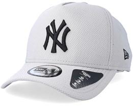 New York Yankees Diamond A-Frame Grey/Black Adjustable - New Era