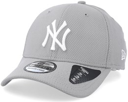 New York Yankees Diamond 39Thirty Grey/White Flexfit - New Era