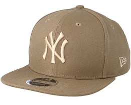 New York Yankees Canvas 9Fifty Camel Snapback - New Era