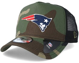 New England Patriots Core Camo Trucker - New Era