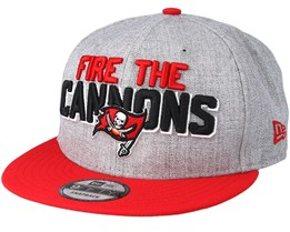 Tampa Bay Buccaneers 2018 NFL Draft On-Stage/Red Grey Snapback - New Era