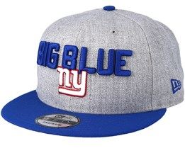 New York Giants 2018 NFL Draft On-Stage Grey/Blue Snapback - New Era