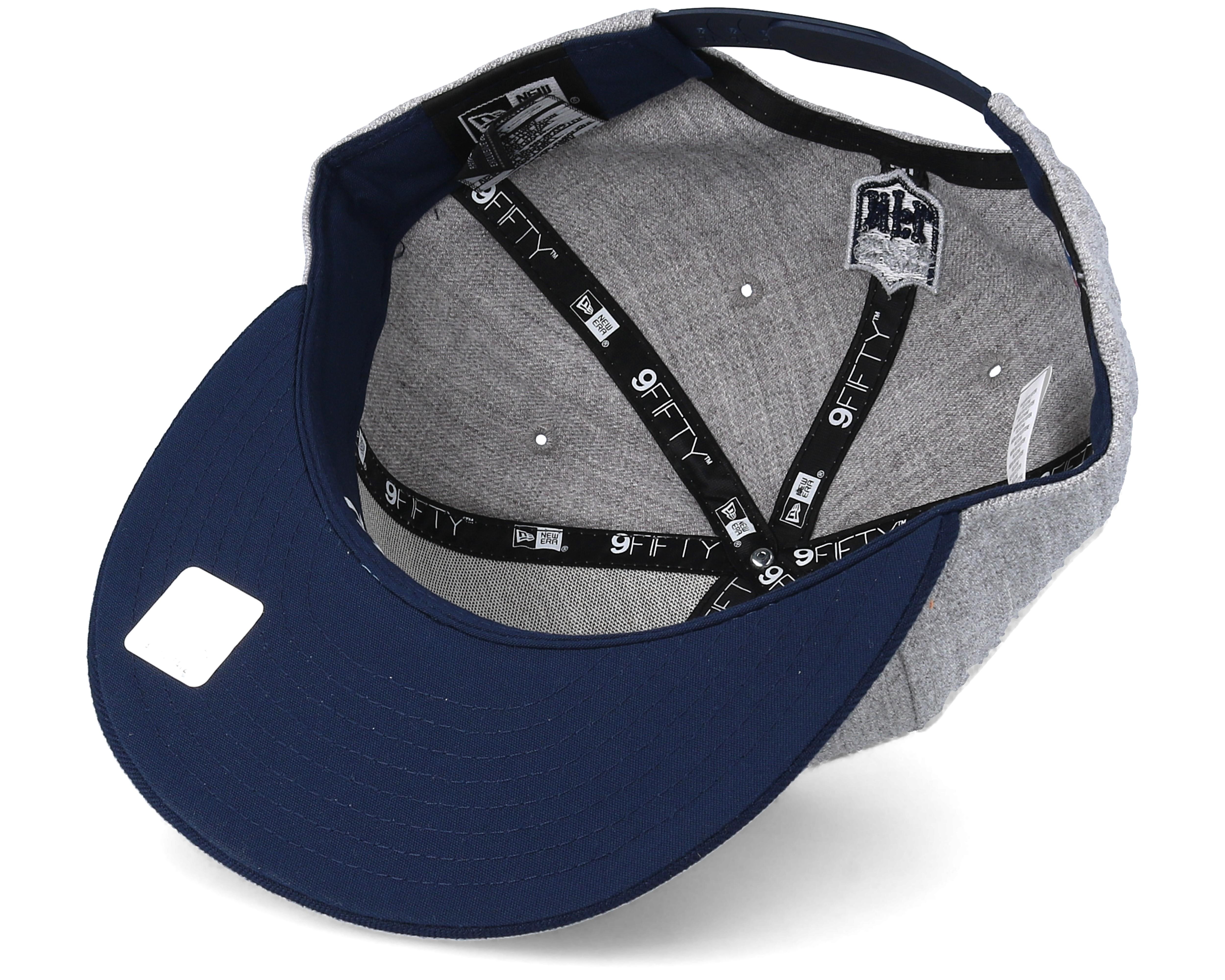 Dallas Cowboys 2018 NFL Draft On-Stage Grey Navy Snapback - New Era ... 61bad1039e09