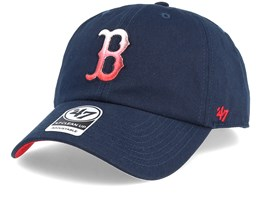 Boston Red Sox Falton Clean Up Navy Adjustable - 47 Brand