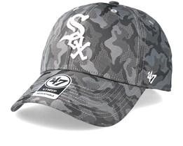 Chicago White Sox Smokelin Mvp Grey Camo Adjustable - 47 Brand