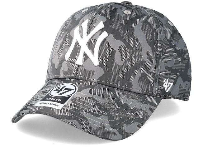 6df5fa82 ... new york yankees smokelin mvp grey camo adjustable 47 brand caps  hatstore