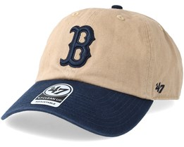 Boston Red Sox Two Tone Khaki/Navy Adjustable - 47 Brand