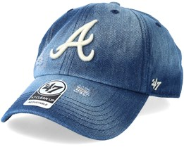 Atlanta Braves Loughlin Navy Adjustable - 47 Brand
