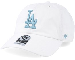 Los Angeles Dodgers Clean Up White/Blue Adjustable - 47 Brand