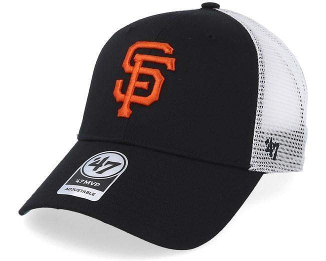 San Francisco Giants Branson Mesh Black Trucker - 47 Brand caps ... 18929efd9c74