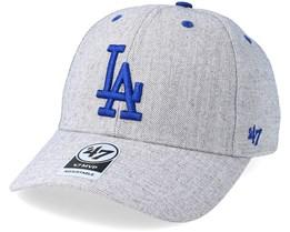 Los Angeles Dodgers Storm Cloud Mvp Charcoal Adjustable - 47 Brand