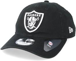 Oakland Raiders Team 9Twenty Black Adjustable - New Era
