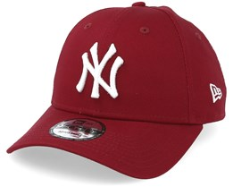 New York Yankees League Essential 9Forty Cardinal White Adjustable - New Era 3bb9f3819af5