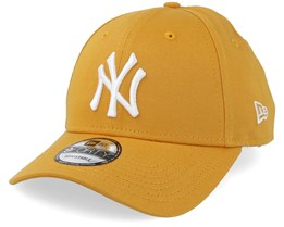 New York Yankees League Essential 9Forty Yellow White Adjustable - New Era 5ca29664c7e7