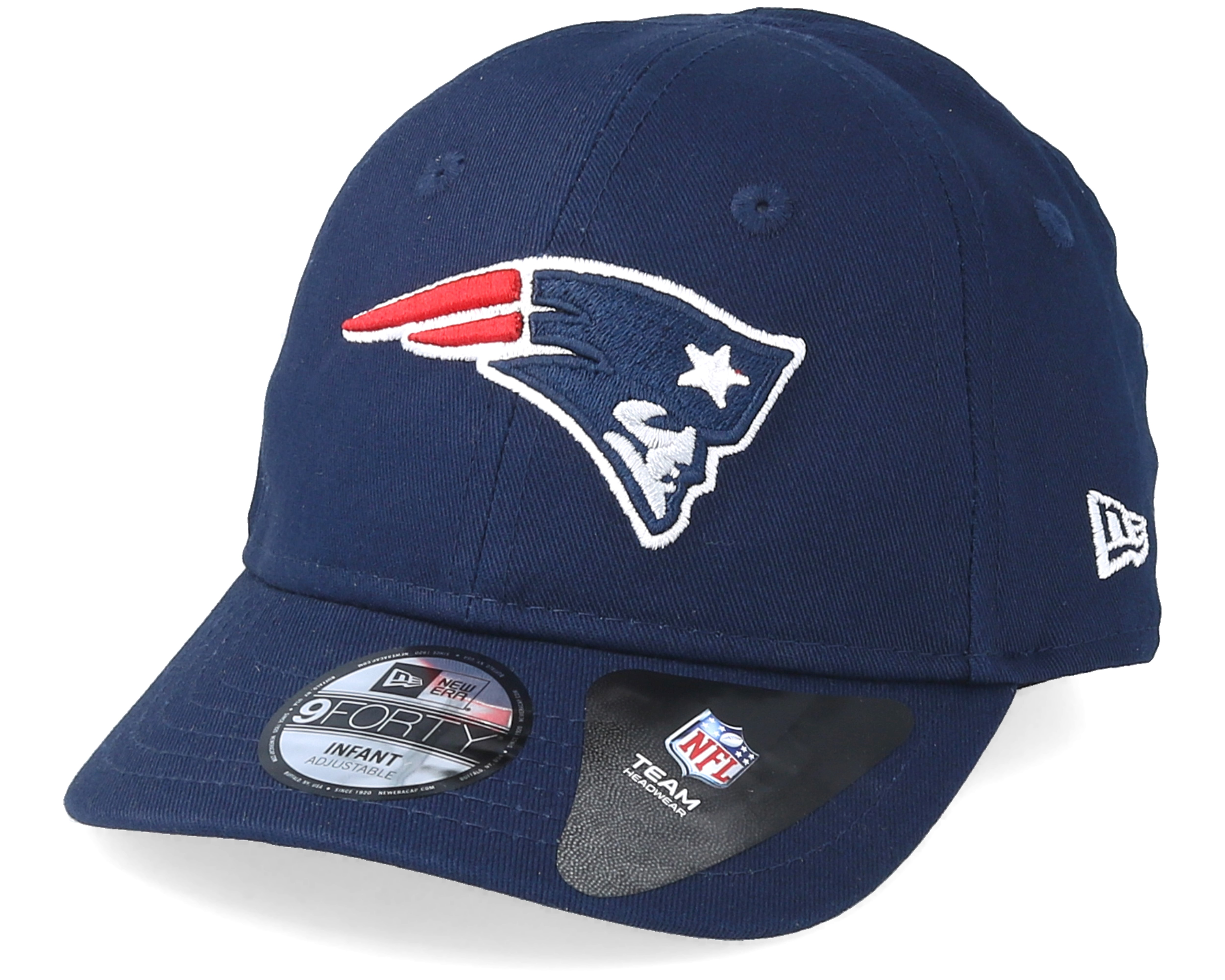Kids New England Patriots Infant Essential 9forty Navy