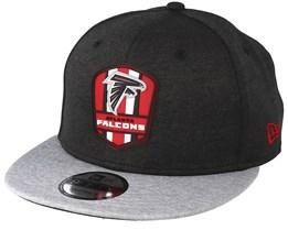 Atlanta Falcons 9Fifty On Field Black/Grey Snapback - New Era