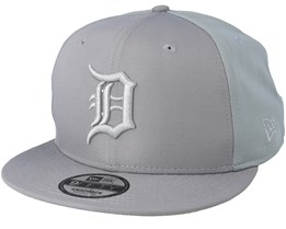 7429980eb5ac6 Detroit Tigers Sport Pique 9Fifty Grey Snapback - New Era