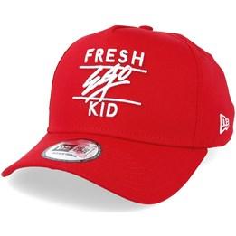Fresh Ego Kid A Frame Cotton Twill Red Adjustable - Fresh Ego Kid 26 675f9e30b74