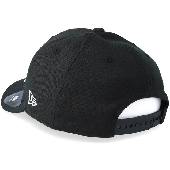 Oakland Raiders Stretch Snap 9Fifty Black White Snapback- New Era caps  29e0e4503e