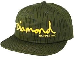 Script Deconstructed Camo Snapback - Diamond