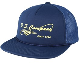 Supplier Trucker Navy Snapback - Diamond