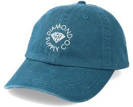 Circle Logo Sports Navy Adjustable - Diamond