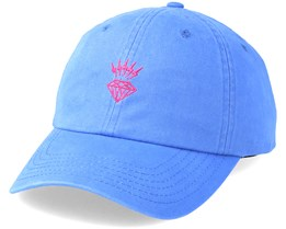 Lightning Sports hat Blue Adjustable - Diamond