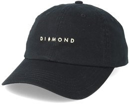 Marquise Sports Hat Black Adjustable - Diamond