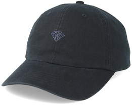 Micro Brilliant Sports Hat Black - Diamond