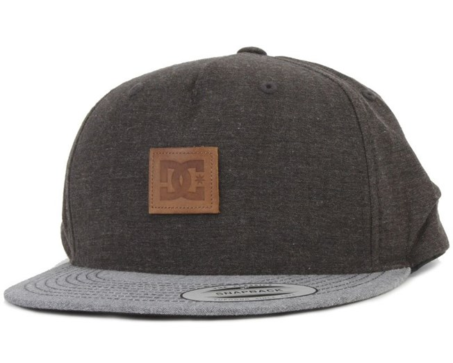 Griller Cap Black 5-Panel - DC