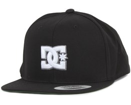 Snappy Black Snapback - DC