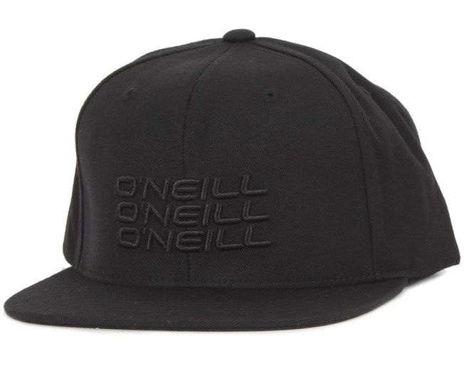 Stacked Black Snapback - O'Neill