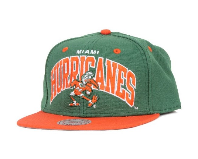 Miami Hurricanes Team Arch - Mitchell & Ness