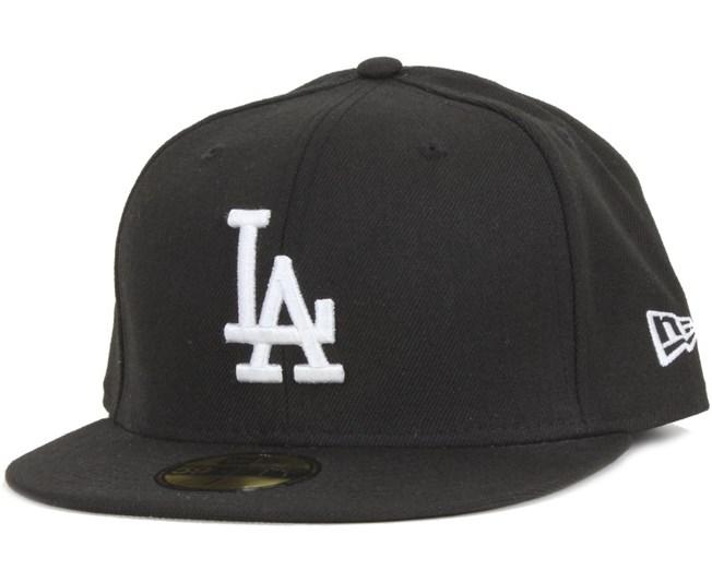 LA Dodgers MLB Basic Black/White 59Fifty - New Era
